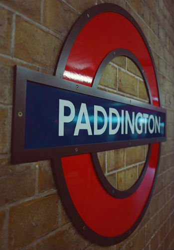 London Paddington sign