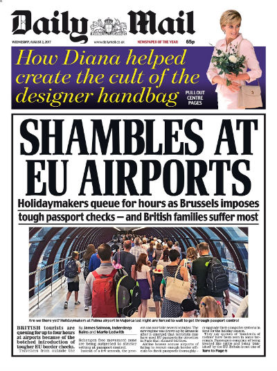 Daily Mail August 2 2017